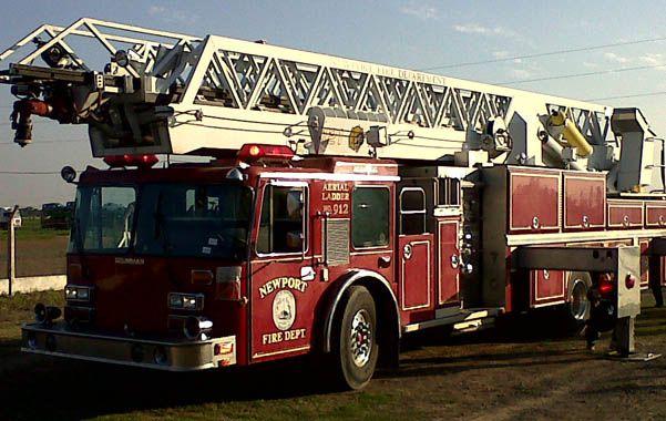 La unidad de última generación fue importada de Estados Unidos y tiene montada una escalera de 38 metros.