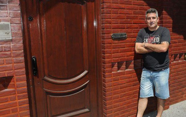 Susto. Al ex futbolista le robaron frente a la casa de su suegra