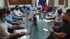 La reunión se llevó a cabo esta tarde en la ciudad de Santa Fe.