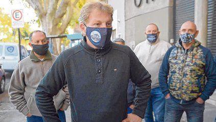 El secretario general de la UTA, Sergio Copello, anticipó que, si mañana no depositan los fondos, habrá paro de choferes.
