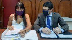 Los fiscales Alejandra Del Río Ayala y Matías Broggi.