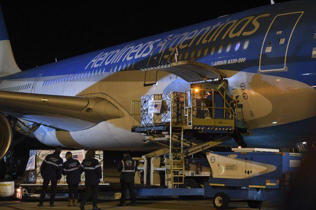 Diez viajes. Son los que se completarán con los vuelos a China.