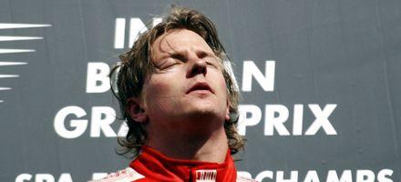 F1: Raikkonen y Ferrari festejaron por primera vez en el campeonato
