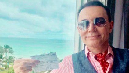 Polino contó que se vacunó en Miami contra el coronavirus: Todo fue muy simple