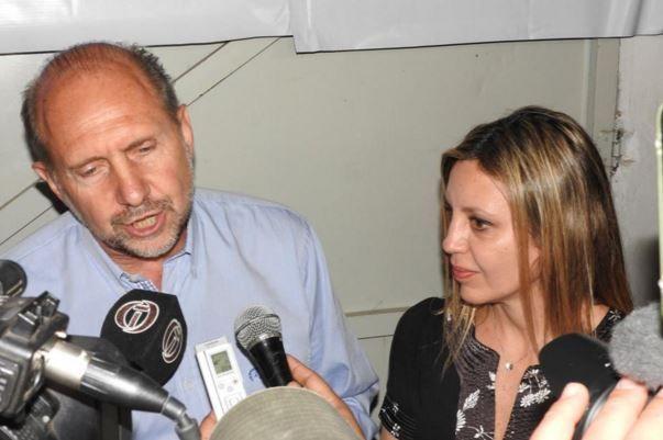 Sacnún fue elegida senadora el año pasado al compartir fórmula con Perotti. Reutemann es el otro representante de la provincia.