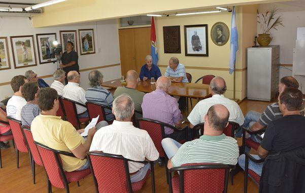 El encuentro organizado en Chabás.