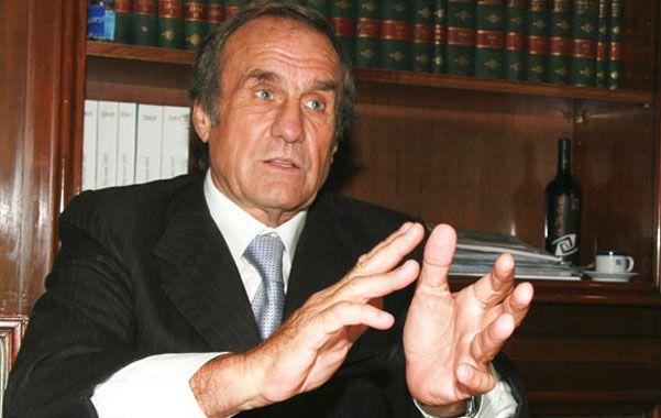 """Reutemann no se ve como el garante de la unidad del PJ. """"No tengo el lápiz ni la chequera"""""""