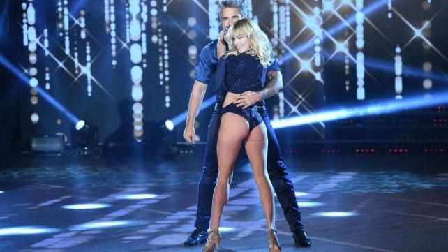 El rosarino Nicolás Paladini y Rocío Guirao Díaz sorprendieron a todos en el Bailando
