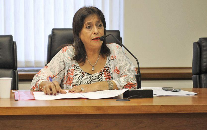 La jueza Raquel Cosgaya. (Foto: H. Río)