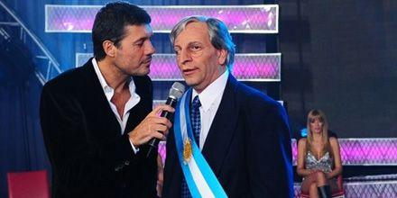 Ficción y realidad: Tinelli gestiona la visita de Néstor Kirchner a Gran Cuñado