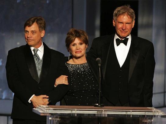 Aún es una duda la presencia de alguno de los protagonistas originales: Harrison Ford (Hans Solo)
