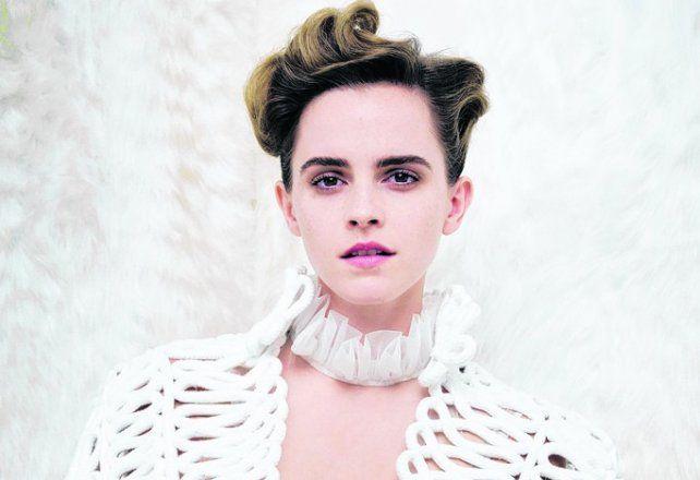 Emma Watson defendió su topples en Vanity Fair