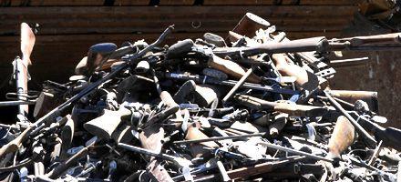 En cinco meses los rosarinos entregaron 3.944 armas