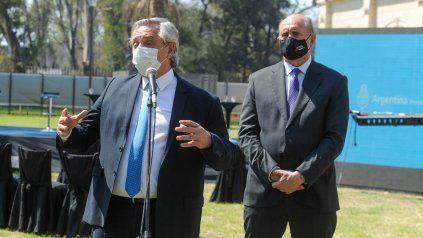 Perotti y el presidente Fernández potenciarán políticas públicas conjuntas en materia de seguridad