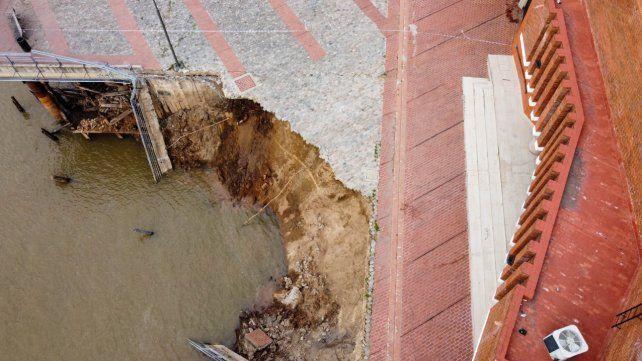 El colapso de un tramo del parque España no implica que