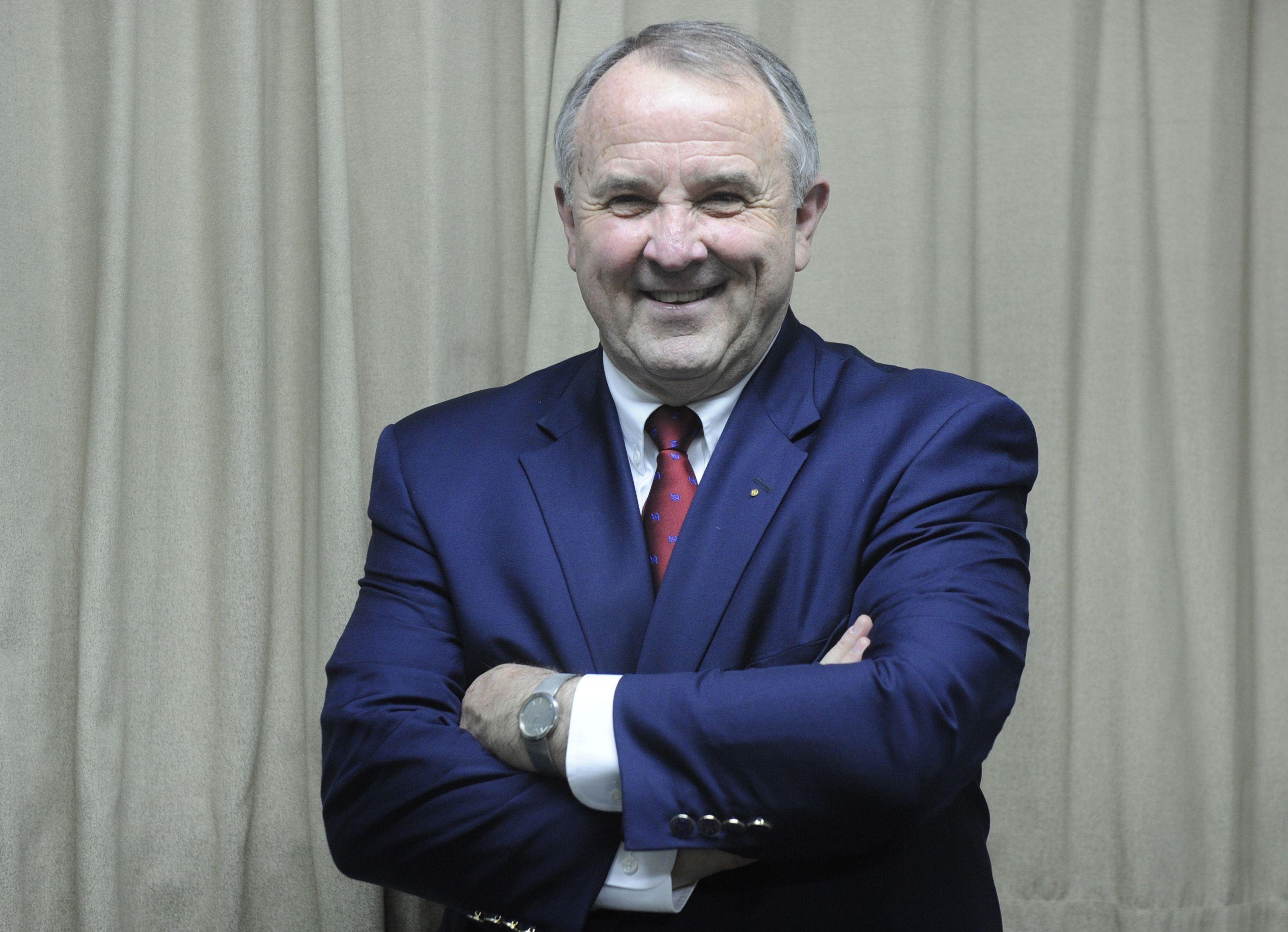 Líder. El presidente de Rotary Internacional