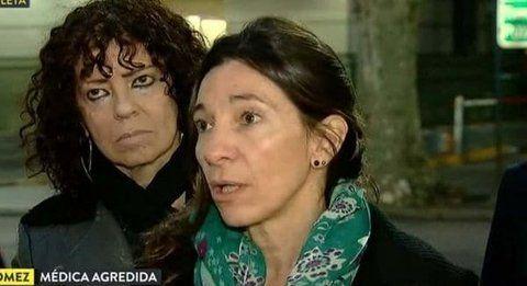vivir para contarla. La médica Andrea Gómez cuenta la odisea.