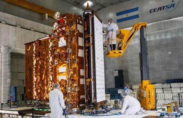 El satélite de observación Saocom 1B