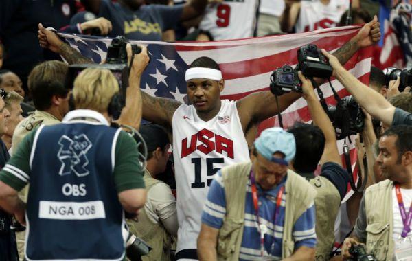 El Dream Team volvió a imponer su jerarquía y se llevó la medalla dorada en los Juegos Olímpicos de Londres 2012.