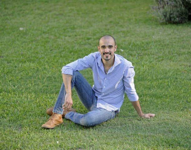 Intimo. El artista asegura que comparte cosas de su vida privada en sus canciones. (Foto: S. Salinas)