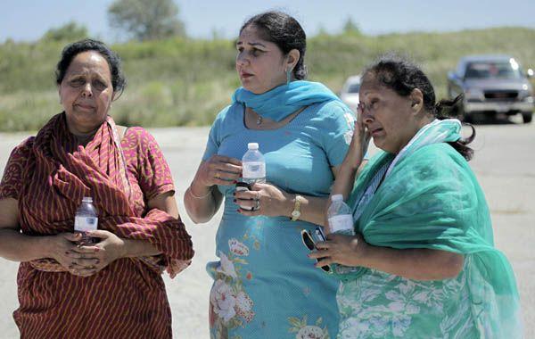 Los miembros de la comunidad sij estaban conmocionados tras el ataque. El agresor fue abatido.