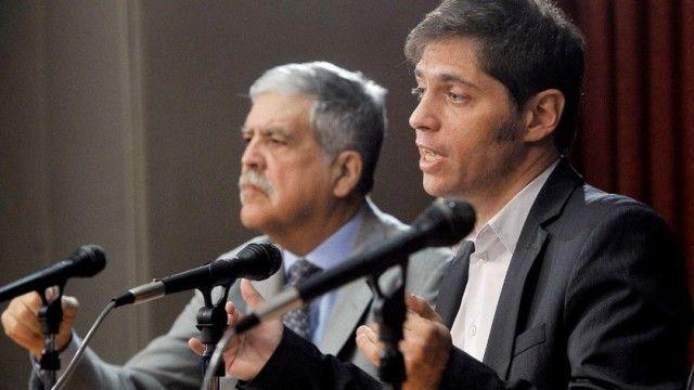 Anuncio. Kicillof y De Vido encabezaron el encuentro de ayer. La primera ronda de negociación arranca con Neuquén.
