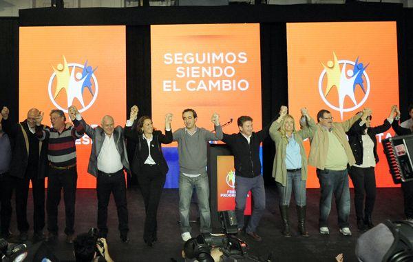 El Frente Progresista se adjudicó el triunfo. En el Concejo