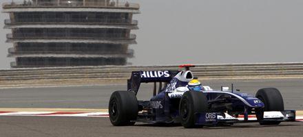 F1: Hamilton obuvo el mejor tiempo en la primera práctica en Bahrein