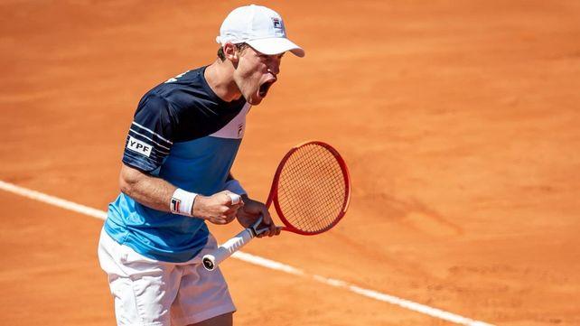 Peque Schwartzman le dio el triunfo a la Argentina contra Bielorrusia en la serie de la Copa Davis