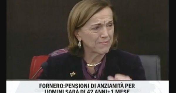 Italia llora el recorte al igual que su ministra de Trabajo