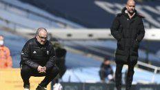 Por primera vez, Bielsa logró ganarle a un equipo de Guardiola.