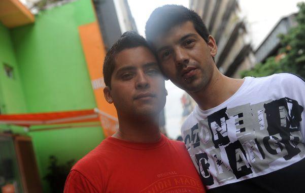 La pareja es de Mar del Plata y hace tres años que reside en Rosario.