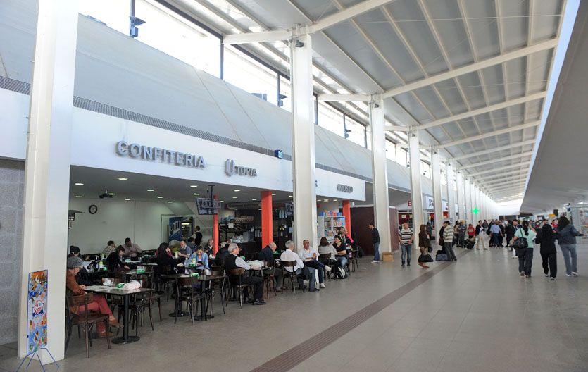 El hall central fue totalmente reconvertido. (Foto: H. Río)