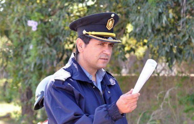El comisario Dante Giménez.