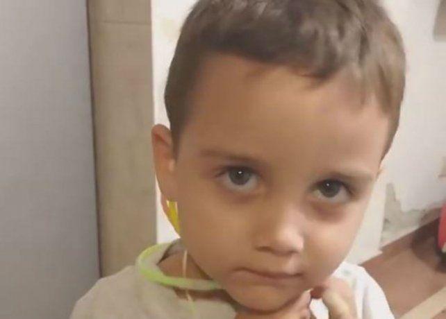 El tierno video de un nene que le pide a Javkin que arregle un pozo