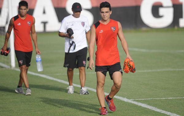 El Tolo Gallego le daría una chance a Lorenzo Faravelli en el choque del viernes ante Argentinos. (Foto: Héctor Río)