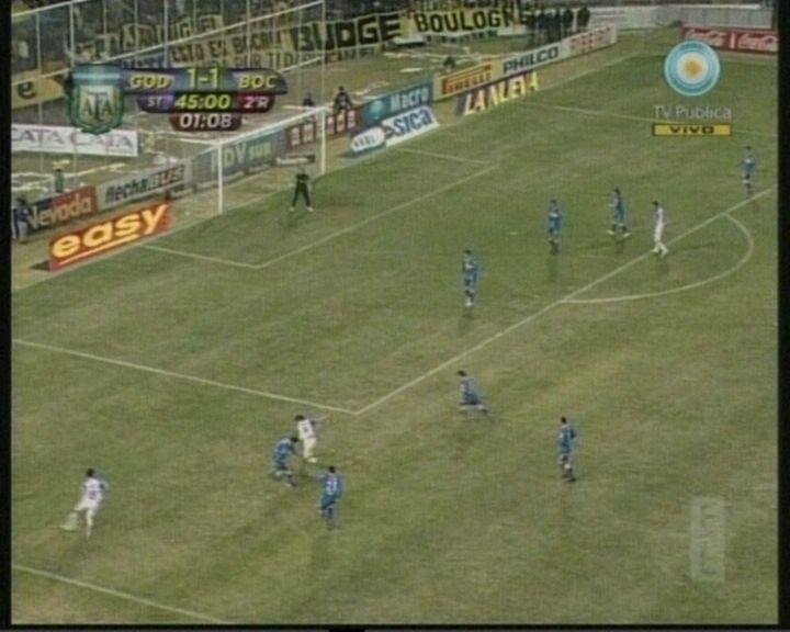 Godoy Cruz y Boca empataron 1 a 1 en el cierre de la primera fecha del Apertura