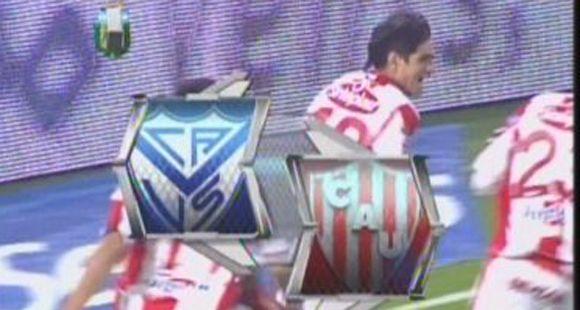 Unión lo definió en una contra y le ganó 1 a 0 a Vélez de visitante