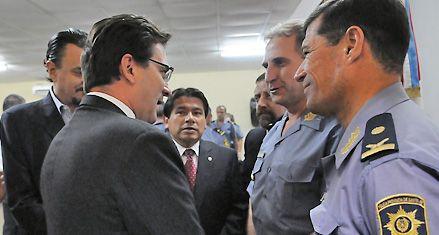 Repentino cambio de autoridades en la jefatura de la policía rosarina