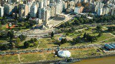 Vista aérea de Rosario.