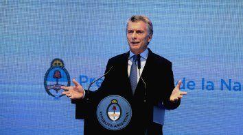 Plan. El presidente abrió el juego a nuevos horizontes en material económica.