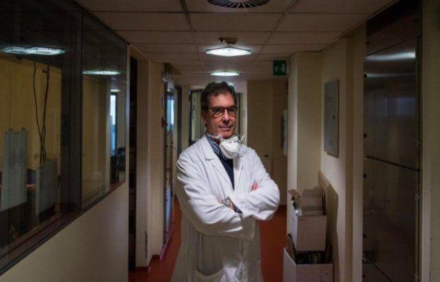 Virólogo. Clementi es director del laboratorio de microbiología del Hospital San Raffaele de Milán.