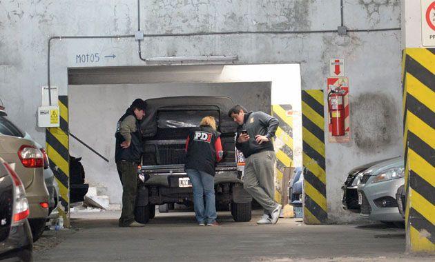 El cuerpo de Sarjanovic fue hallado el lunes en un departamento de Moreno al 500. (Foto: S. Salinas)