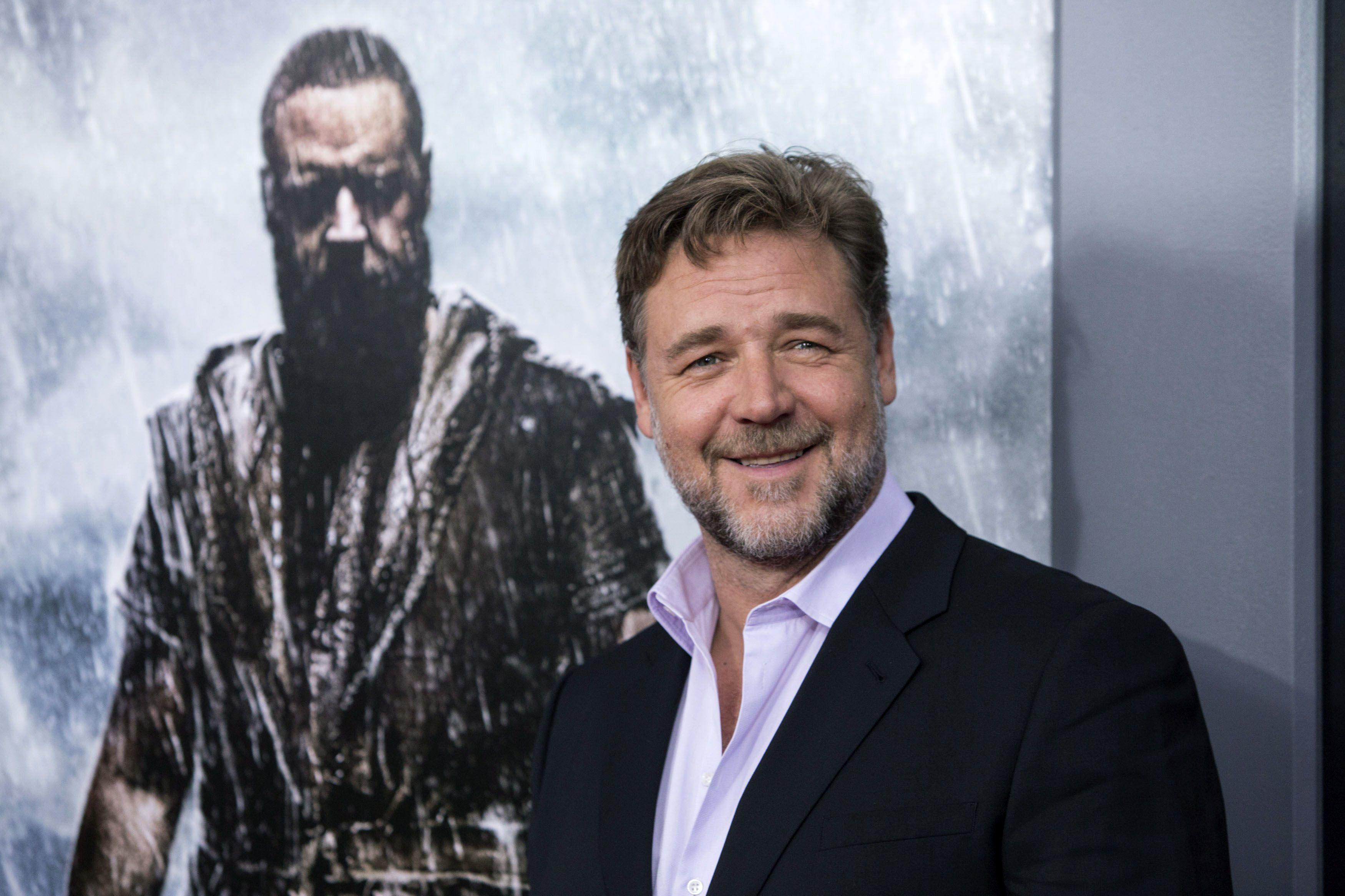 Russell Crowe debutó el año pasado como director.