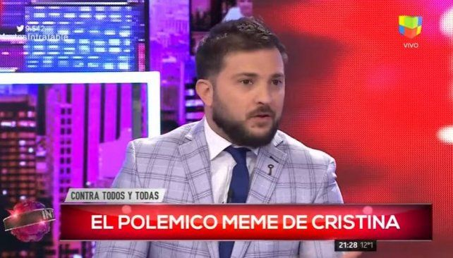 Brancatelli pidió disculpas y admitió que Cristina la pifió con los graphs