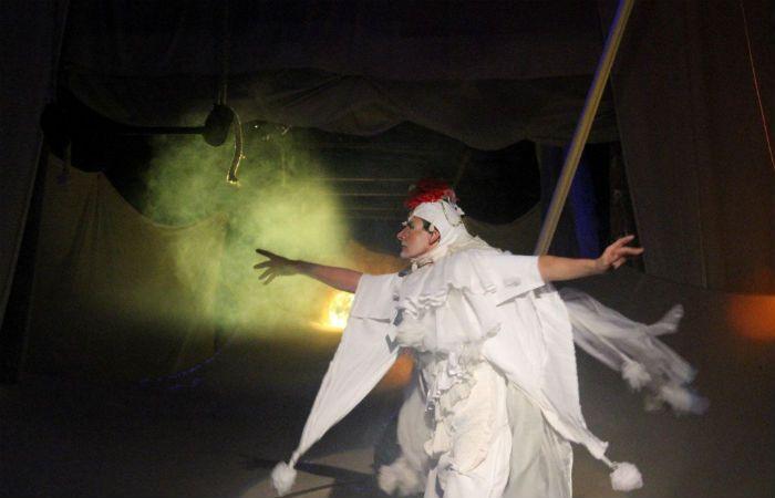 Multifacético. El creador de Piripincho vuelve con una puesta que habla de las luchas internas que viven los artistas.