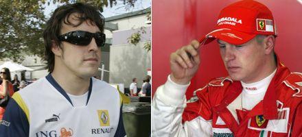 Ferrari: una dupla Alonso-Raikkonen sería querer destruirse a uno mismo