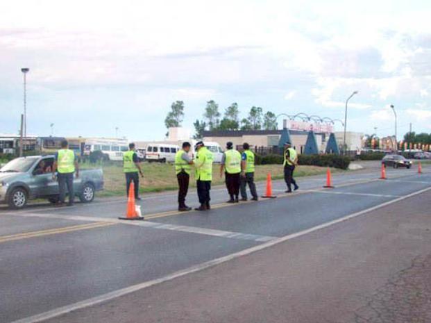 El accidente se registró en la ruta nacional 33