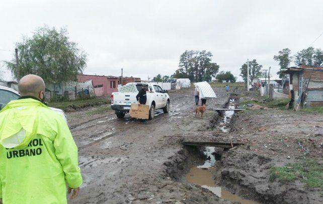 Los 69 evacuados, tras las precipitaciones del jueves, ya volvieron a sus hogares tras estar evacuados en centros asistenciales de la ciudad