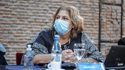 La ministra de Salud Sonia Martorano habló sobre los casos sospechosos de variante Delta.